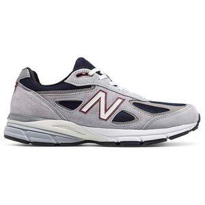 🆕 New Balance 990v4 Men's Running, Grey Navy RARE
